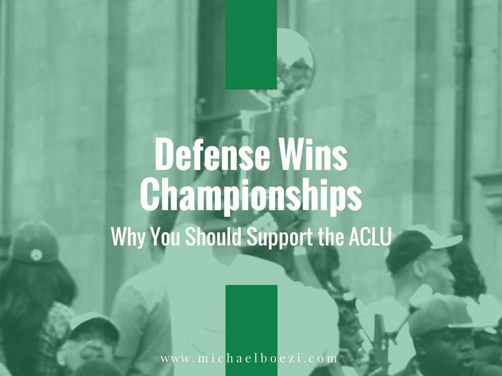 Playing defense, ACLU, civil liberties, defense attorney