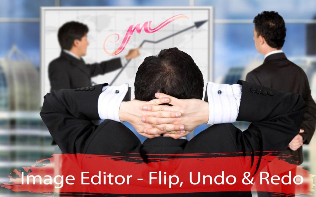 Image Editor – Flip, Undo, Redo