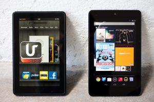 Kindle Fire HD vs. Nexus 7 Tablet