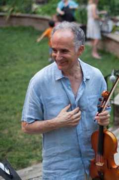 After Upper West Side Community Garden Celtic concert July 8 2012