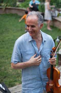 After Upper West Side Community Garden Celtic concert July 8 2012