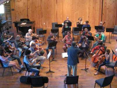 Greenwood Music Camp Raga for Orch June 24 2012 one