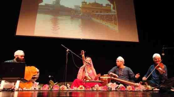 Hofstra Sikh recital 4-12-13 Michael Braudy Jessie Ann Bolash Rikhav Kothari