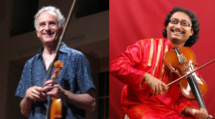 Michael and Indradeep Ghosh in concert in NYC