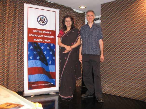 Mumbai American Center with Sunita Bhuyan March 11 2008 3
