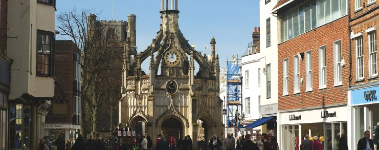 Picture of Market Cross in Chichester city