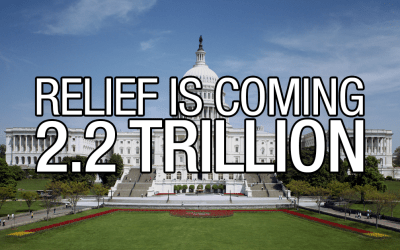 RELIEF IS COMING