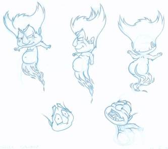 Devil naughty model sheet