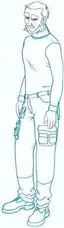 Costume Combat Trousers