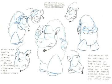 Silica-sheep-character