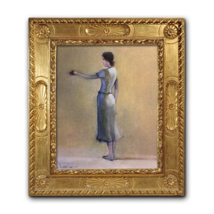Michael Chambers - Seeker, Finder 3 - oil on canvas - virtually framed