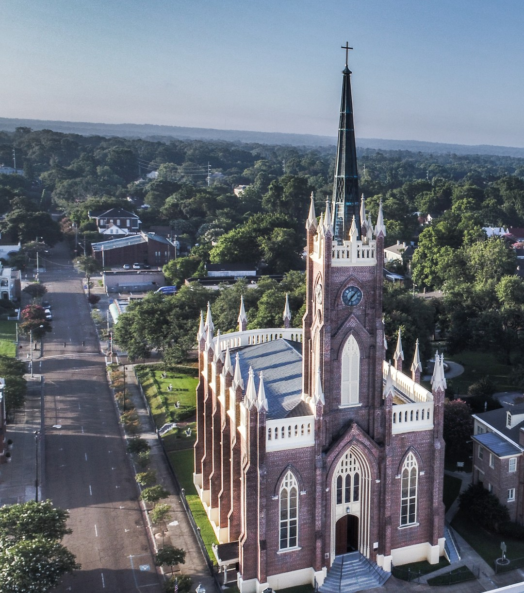 Architectural, Drone Photography, Natchez MS
