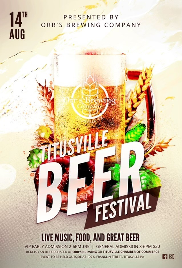 Titusville Beer Festival 2021