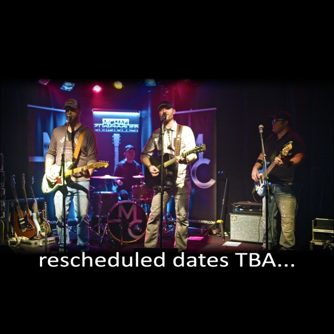 Michael Christopher Rescheduled Dates TBA