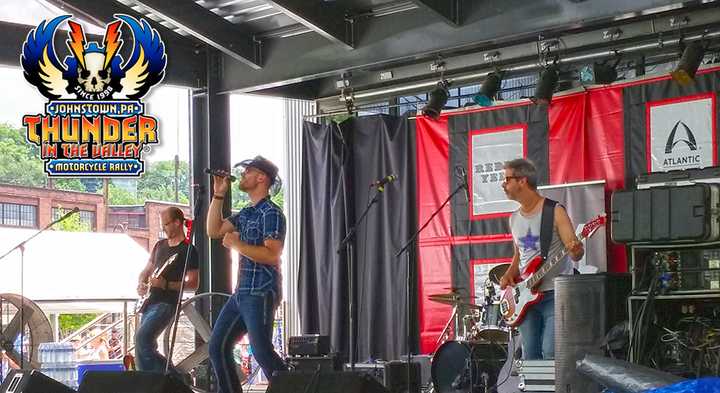 Michael Christopher Band onstage at Thunder in the Valley
