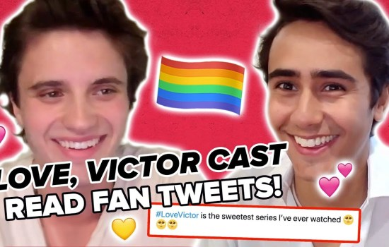 VIDEO: 'Love, Victor' Cast Reacts to Fan Tweets