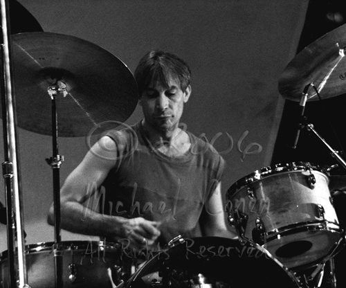 Charlie Watts 3 [The Rolling Stones - Rupp Arena, Lexington Ky 12-11-81]