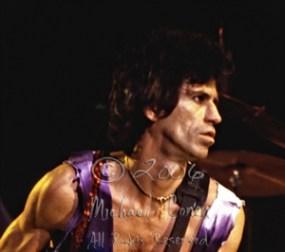 Keith Richards 'the shot' CLOSEUP [The Rolling Stones - Rupp Arena, Lexington Ky 12-11-81]