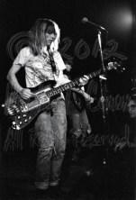 Kim Gordon & Thurston Moore behind 3 [Sonic Youth - I Beam, SF 7-7-86]
