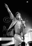 Mick Jagger run & point [The Rolling Stones - Freedom Hall, Louisville Ky 11-3-81]