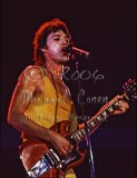 Mick Jagger with SG looking down [The Rolling Stones - Freedom Hall, Louisville Ky 11-3-81]