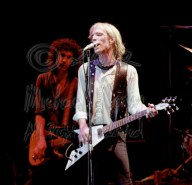 Tom Petty & Flying V with Mike Campbell behind 4 [TP and the Heartbreakers - Louisville Memorial Auditorium 9-20-78]