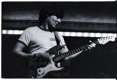 Simon Nicol on a Fender electric