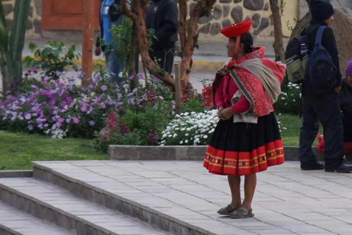 Ollantaytambo Woman
