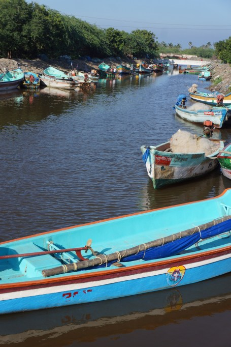 Tharangambadi Fishing Boats