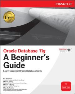 Oracle 11g A Beginners Guide