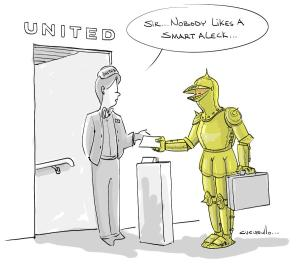United Airline Cartoon Number 1