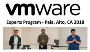 VMware Experts Program Big Data Day 3