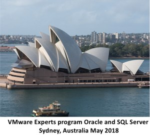 VMware Experts Program Oracle and SQL Server