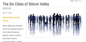 Six Cities of Silicon Valley