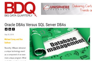 Oracle DBAs Versus SQL Server DBAs