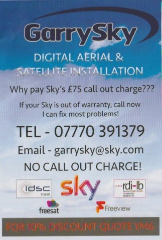 Why Pay SKY £75 Callout Charge?? When You Can Call Garry Sky