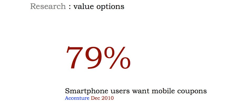 The data was clear, people want their smartphone to deliver value