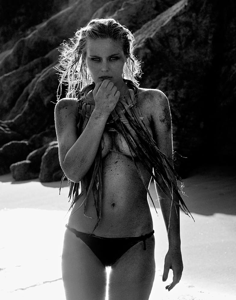 Amanda Streich Nude Photography Michael David Adams Photographer Limited Edition Black Sand Beach