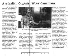 News article. circa 1991