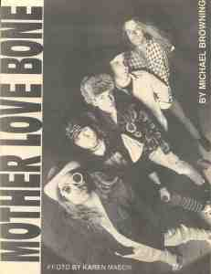 April 1990 City Heat Mother Love Bone