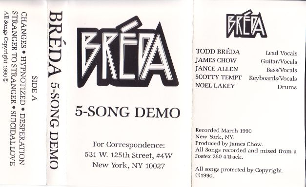 Breda 5-Song Demo Jacket