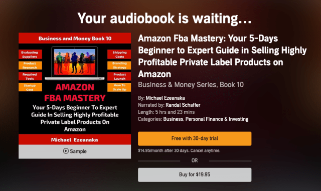 Amazon-FBA-Audible