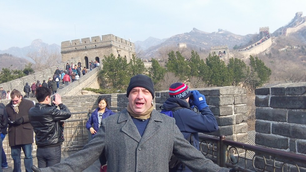 Michael on the Great Wall