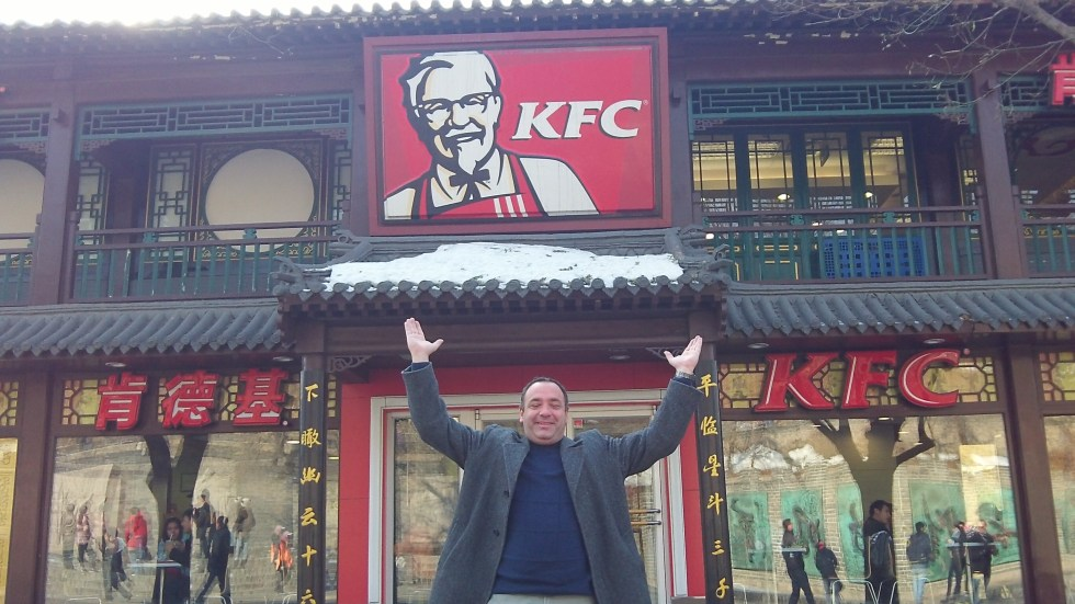 Kentucky Fried Chicken on the Great Wall!