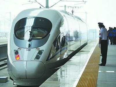 High speed train beijing to jinan