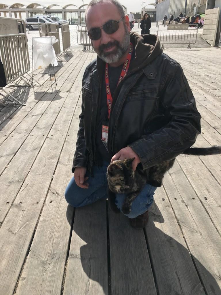 Mike and Cat at Wailing Wall