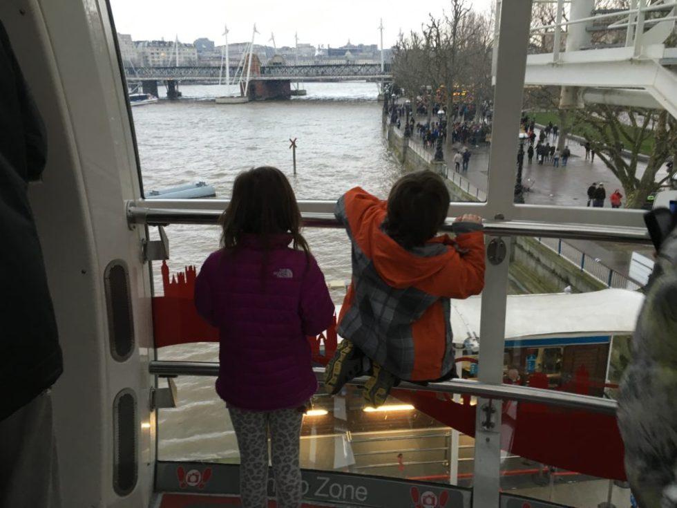 London by Millennium Wheel
