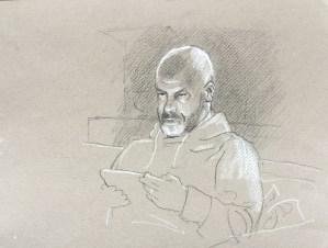 Mark reading, 2015