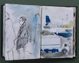 Sketchbook, Roberto, January, 1987
