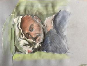 Mark - sleeping, 2019